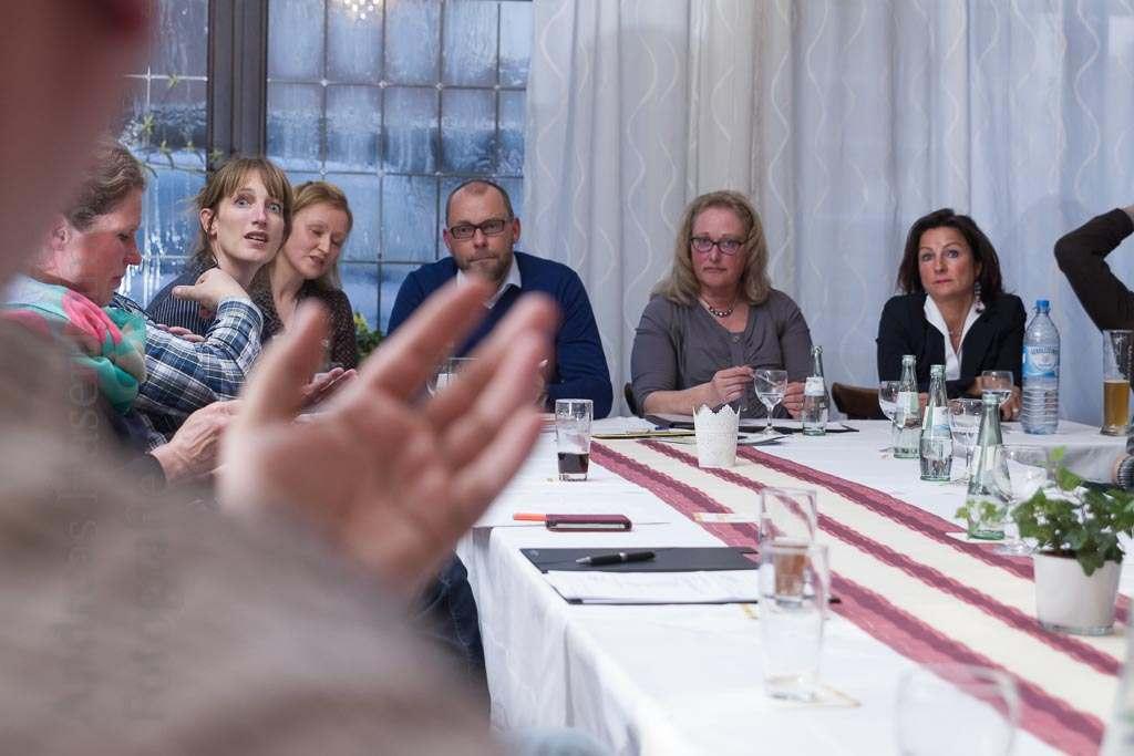 """Gewerbeverein Wolbeck überdenkt Veranstaltungen und diskutiert Nutzen """"Lieber öfter mal was anderes"""" -  Asphalt-Frühstück auch 2016"""