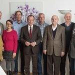 Roter Mann platzt in CDU-MdB-Ansprache in Gremmendorf 6