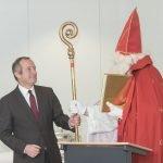 Roter Mann platzt in CDU-MdB-Ansprache in Gremmendorf 12