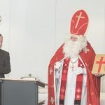 Roter Mann platzt in CDU-MdB-Ansprache in Gremmendorf 14
