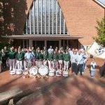Erste Kirmesgemeinde Münsters lässt ihre Fahne kirchlich weihen 1
