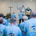 Erste Kirmesgemeinde Münsters lässt ihre Fahne kirchlich weihen