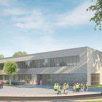 Zweite Grundschule für Wolbeck im Bau