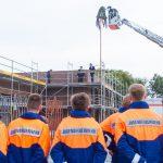 Richtfest nach Plan: Handorfer Wehr freut sich auf neues Feuerwehrgerätehaus