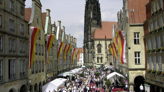 Hansemahl in Münster eine Woche früher