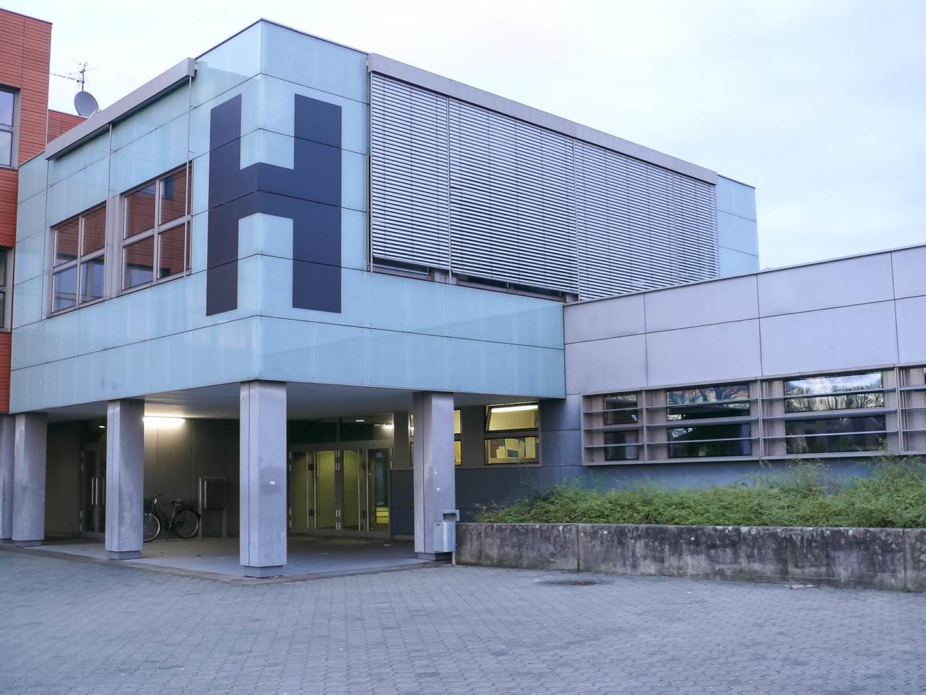Symbol der Hauptschule Wolbeck am Schulzentrum Wolbeck.