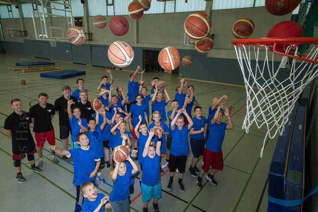 Basketball-Camp des TUS-Hiltrup zieht Neulinge wie Ehemalige an