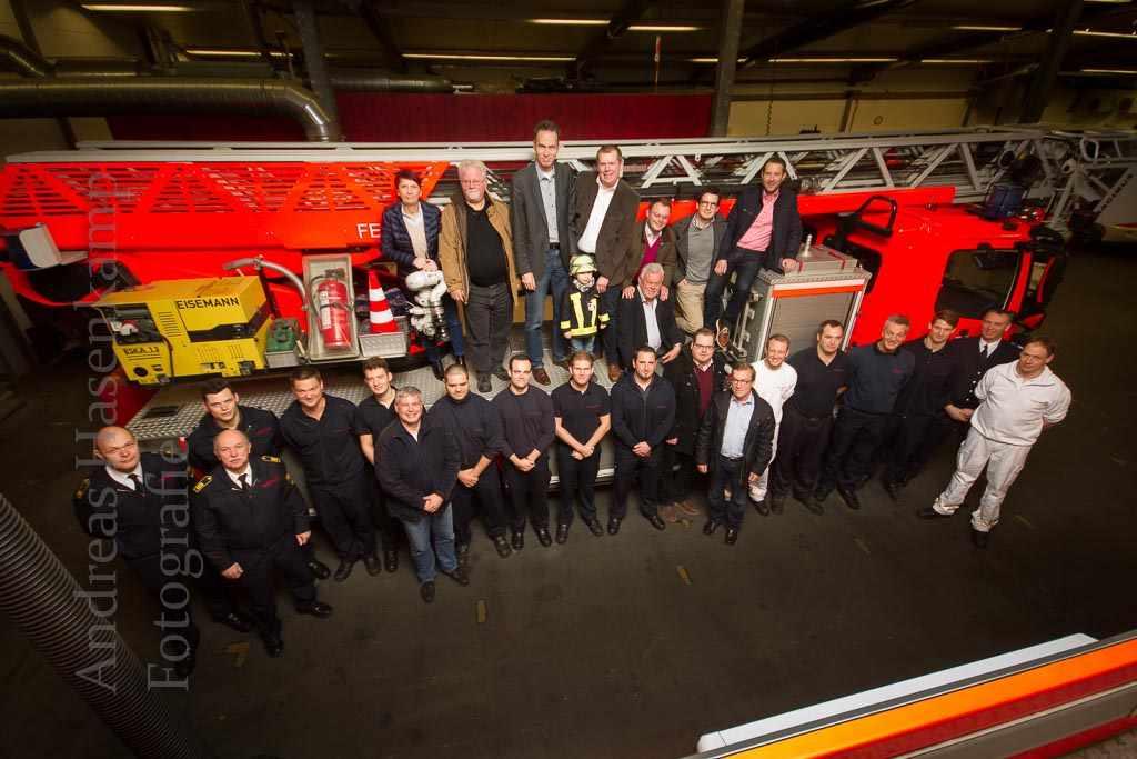 Ausschuss besucht Feuerwache 3 der Berufsfeuerwehr Münster