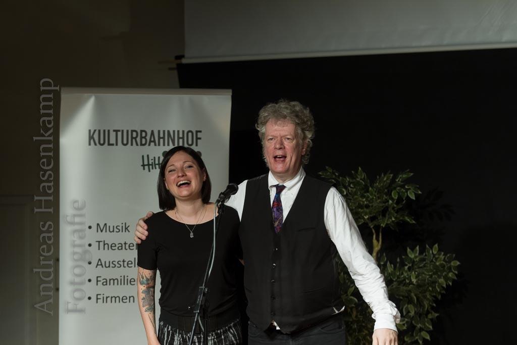 """""""Boogie Woogie Power Train"""" mit Christian Bleiming und Gästen, dieses Mal: Romana Dombrowski"""