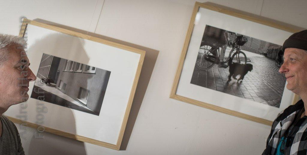 Street-Photography: Einladung zu einem anderen Wahrnehmen Udo Fattmann und Reiner Schlag zeigen Werke aus Münster im Kulturbahnhof Hiltrup