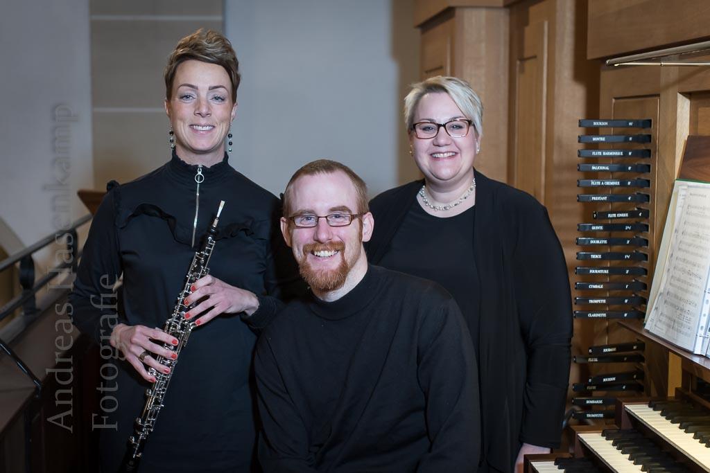 Orgel, Sopran, Oboe für eine Stille 15