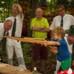 Schützen von Dicke Eiche küren Könige und Kaiser beim Schützenfest 2015