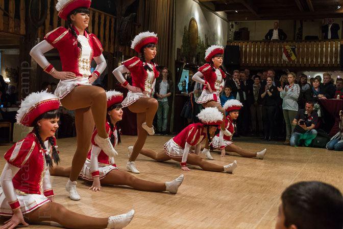 Tanzsport-Garden der KGH aus Hiltrup zeigen Tänze der Session 2016