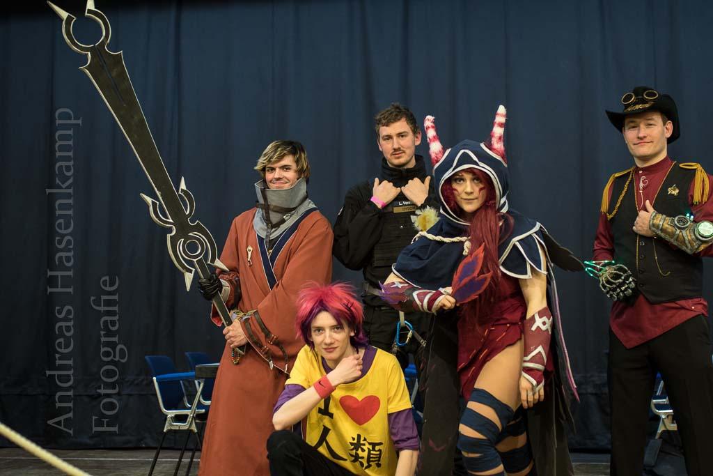 4. Comic- und Manga-Convention: Comic-Fest in der Stadthalle Hiltrup