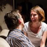Blick zurück im Zorn vom Theaterlabor im Kulturbahnhof Hiltrup aufgeführt