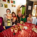 BauSpielTreff Holtrode startet Osterferien-Programm 2013 in Wolbeck mit kleiner Gärtnerei