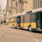 Impfbus fährt Flohmärkte und Stadtteile in Münster an