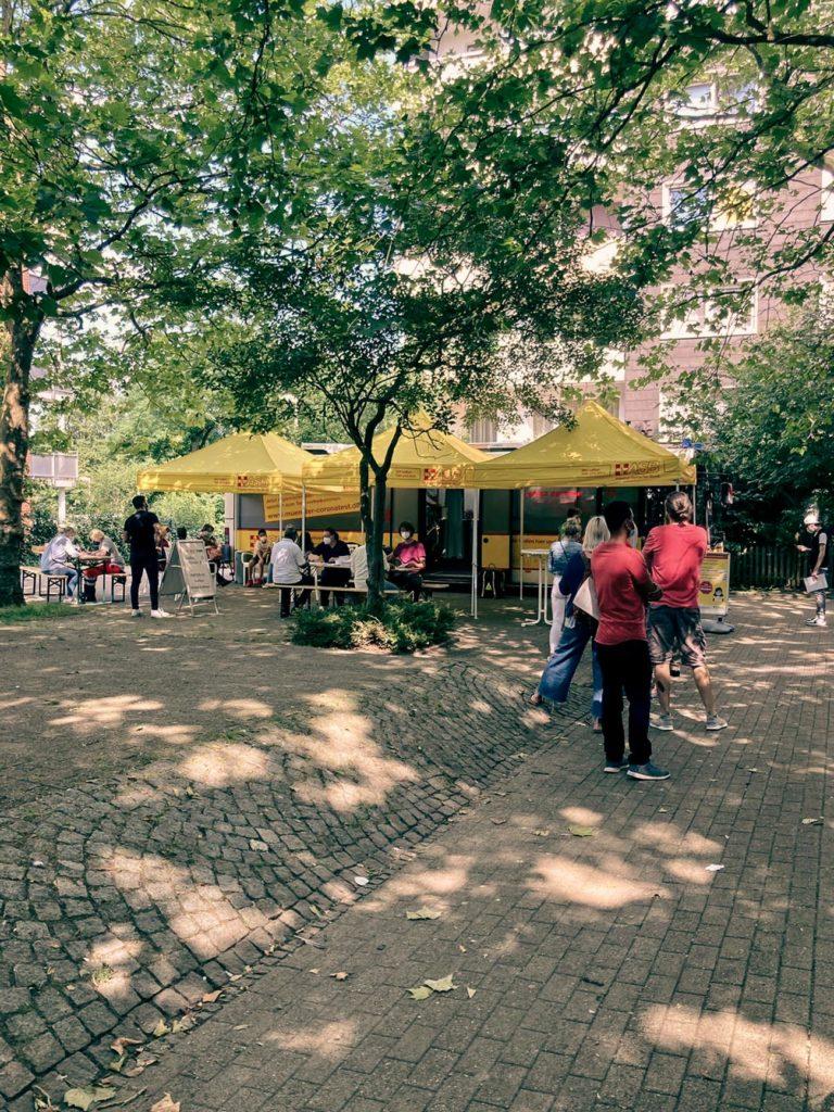 Impfbus fährt weitere Stadtteile in Münster an