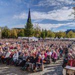 kfd im Bistum Münster feiert Jubiläum auf dem Domplatz