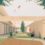 Kita Oxford: Spielhof ist das Herzstück