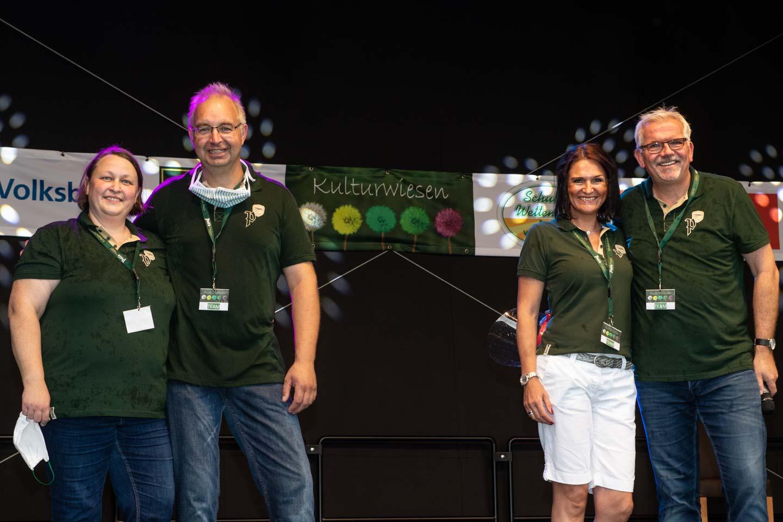 Die Veranstalter: Stephanie und HenrikSchulze Wettendorf,Thomas Deipenbrock und Silvia Weß. Foto: A. Hasenkamp, Münster