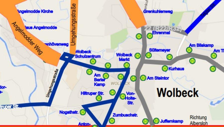 Münster-Triathlon: Folgen für Busverkehr in Wolbeck und Angelmodde Rennen am 23.7.2017 führt zu Änderungen