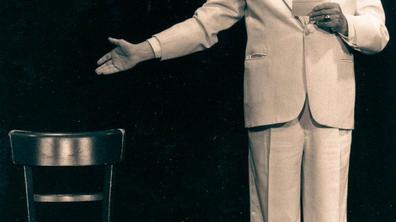 Schauspieler Busso Mehring (Foto). Foto: Stadt Münster / Sammlung Stadtarchiv.