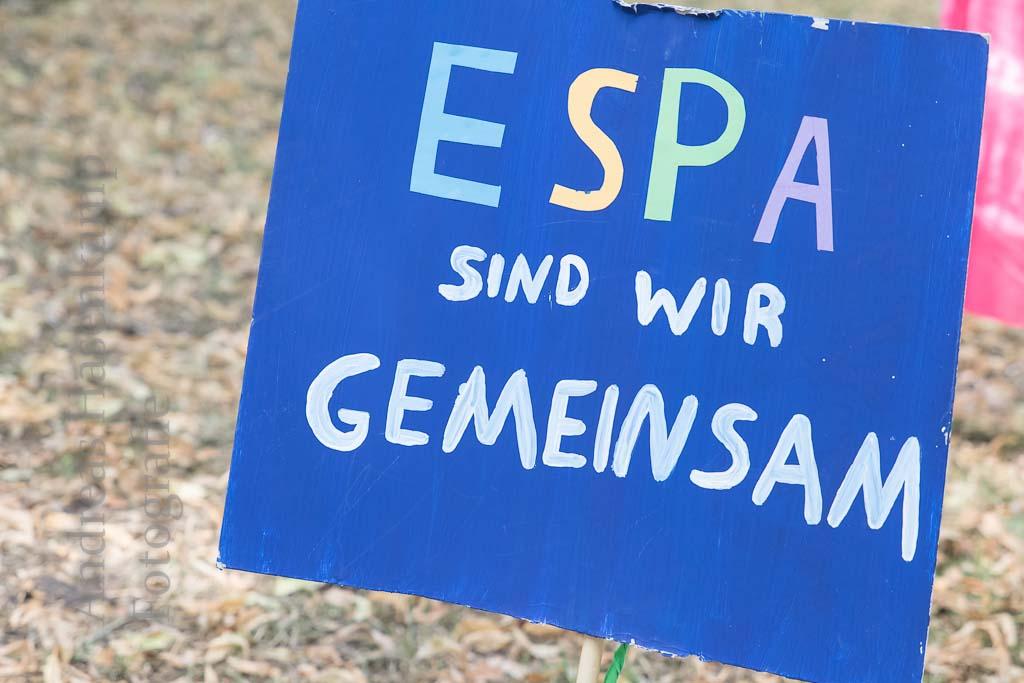 Senfkorn für die ESPA Schlusspunkt-Feier Evangelischen Sozialpädagogischen Ausbildungsstätte