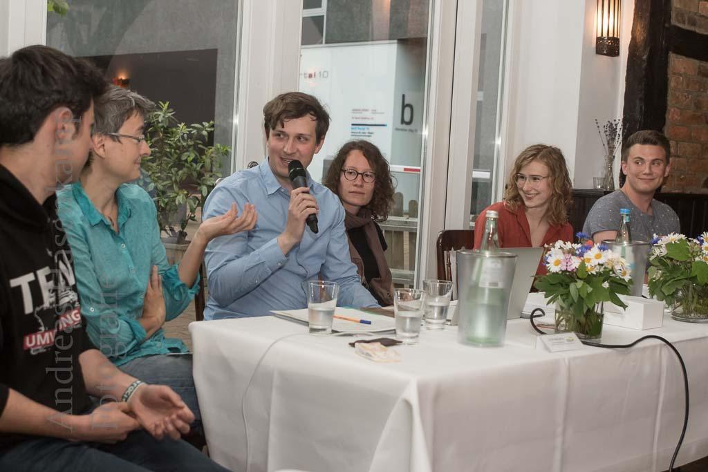 """""""Bewegung"""" bei den GRÜNEN in Münster Fridays for Future Münster zu Gast, """"Seebrücke"""" ein Thema mit Dissens"""