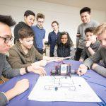 Berufsbilder in der Schule praktisch vermittelt: MINT-Parcours im Rats-Gymnasium 12