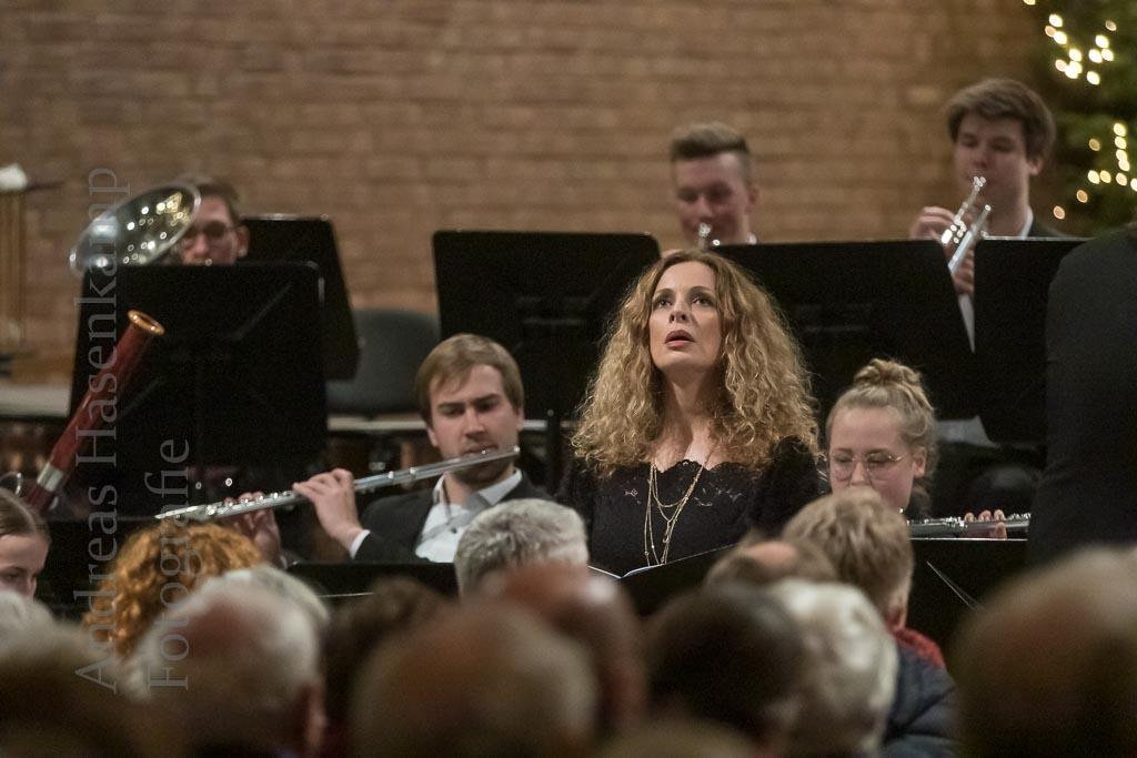 Jugendorchester Havixbeck konzertiert Weihnachtskonzert mit Henrike Jacobs