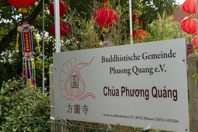 "Fest der Dankbarkeit - ""Ullambana"" in der Pagode Phuong Quang in Münster."