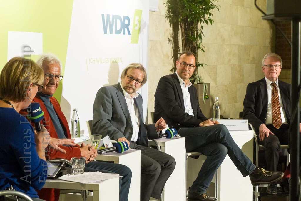 Verkaufsoffene Sonntage in Münster: WDR 5-Stadtgespräch in den Arkaden 8