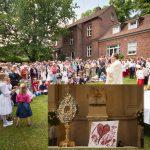 Fronleichnams-Prozession und Pfarrfest in St. Nikolaus Münster