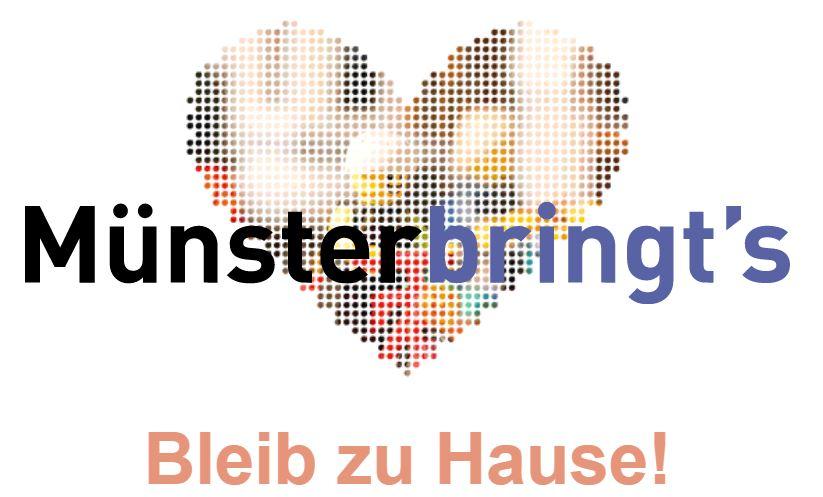 Münster bringt's - Bleib zu Hause Initiative Münster