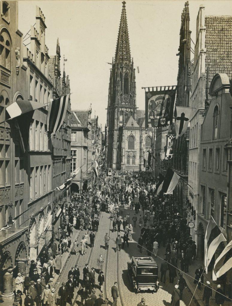 Kleine Präsentation zum Katholikentag 1930 in Münster Ausstellung im Stadtmuseum Münster