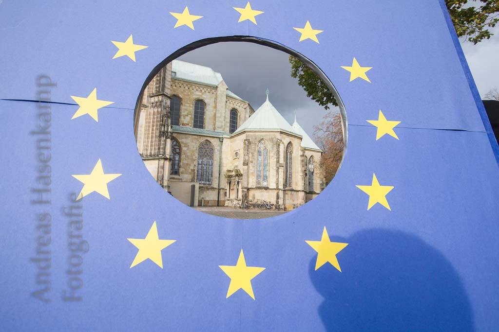 "Bürger sprechen bei ""Pulse of Europe"" in Münster 4"
