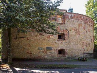Außenansicht des Zwingers an der Promenade in Münster. Foto: Stadt Münster.