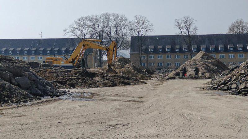 Baustelle im Oxford-Quartier. Foto: KonvOY GmbH.