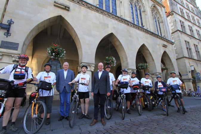 700 Kilometer mit dem Rad von Münster nach Kristiansand