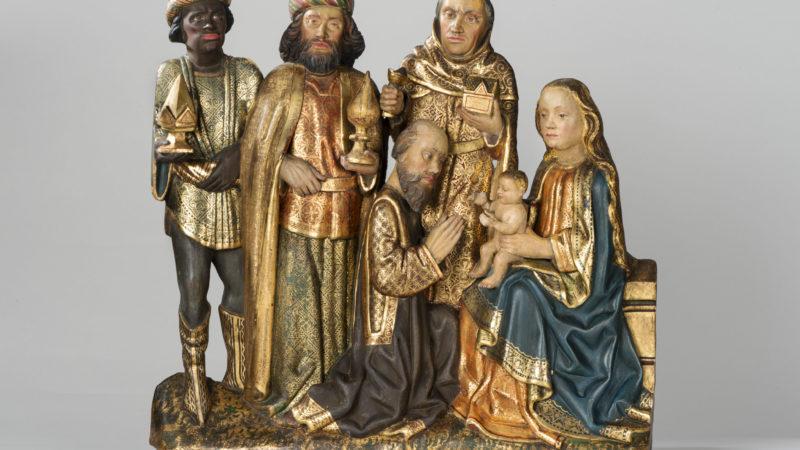 Relief der Heiligen Drei König im Stadtmuseum Münster. Foto: Stadt Münster.