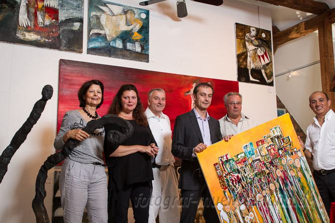 """""""Exposition"""" zeigt Sammelausstellung in Salonhängung in der Rudi-Fred-Linke-Galerie"""