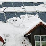 Abschied vom Winter – nicht vom Dach