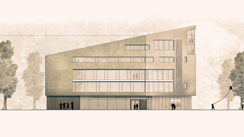 """Das Büro """"UWA – Weidemann Architekten"""" hat den Architektenwettbewerb für den Neubau am Servatiiplatz gewonnen. Das Preisgericht war unter anderem von der guten Einbindung des Gebäudekörpers in das komplexe städtebauliche Umfeld überzeugt. Quel"""