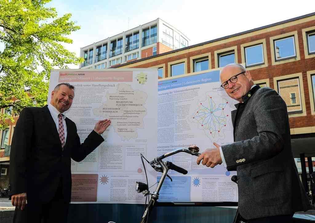 Neuer Gasbehälter auf Hauptkläranlage Münster in Betrieb 2