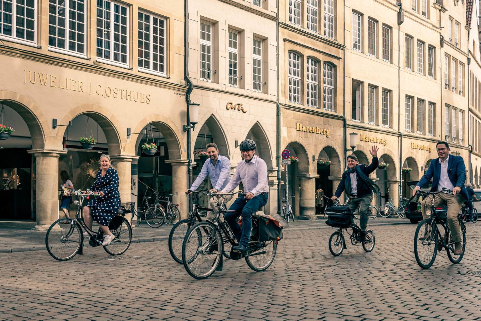 Stadtradeln statt Stop and Go