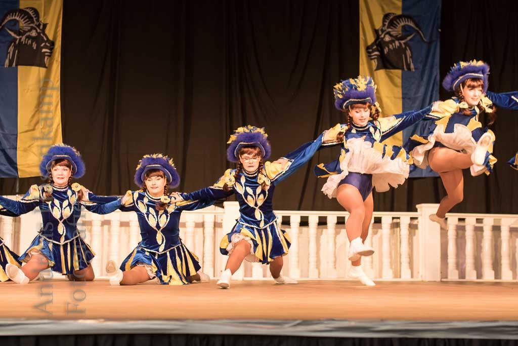 Tanzgruppen-Präsentation 2018 der KG ZiBoMo 8