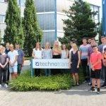 Auszubildende starten bei der technotrans SE in Sassenberg