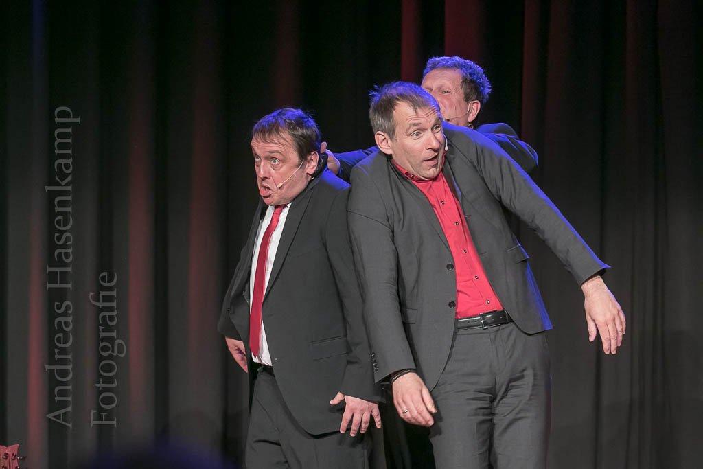 """""""Storno"""" brilliert bei """"Abrechnung"""" mit dem Jahr 2018 Bürgerhaus Telgte zweimal gefüllt"""