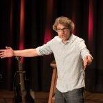 Christoph Sieber provoziert Fragen im Bürgerhaus Telgte 1